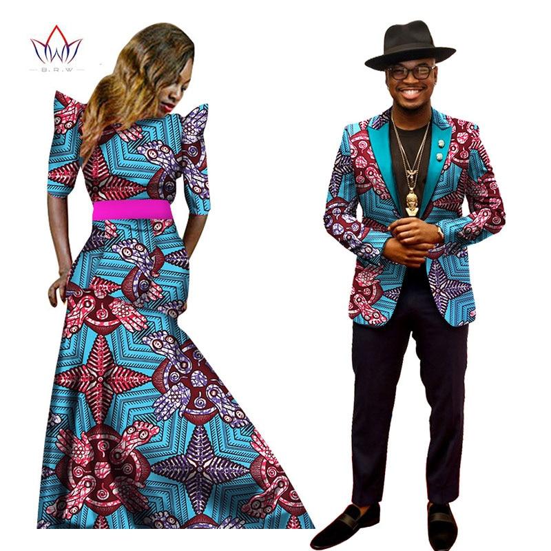 Afrikanske kjoler til kvinner Afrikansk kjole Bazin Riche Kvinner - Nasjonale klær - Bilde 3