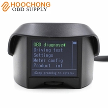 2017 hotsale AUTOOL X50 plus Car OBD Smart Digital & Early Alarm fault code Multi-Function Meter free shipping