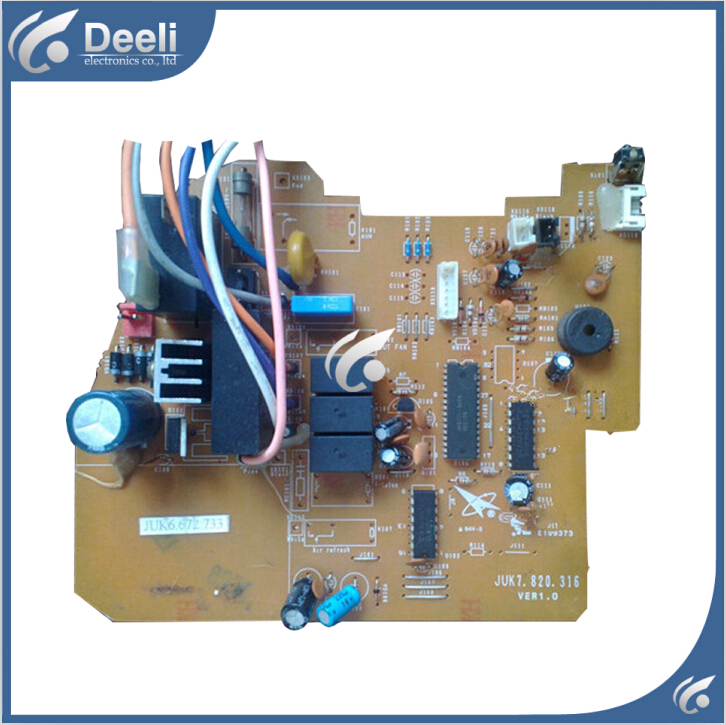 цена на 95% new good working for air conditioning board Computer board JUK6.672.733 JUK7.820.316 board good working