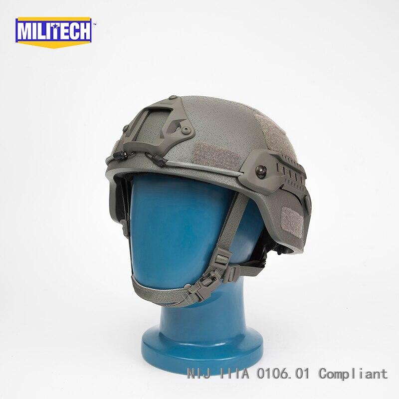 MILITECH FG MITCH NIJ Level IIIA 3A Tactical Aramid Bulletproof Helmet ACH ARC OCC Dial Liner Aramid Ballistic Helmet DEVGRU CAG
