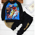 2017 new Zootopia Clothing sets Sport boys suit clothing sets suit 2 pieces set Tracksuits Kids Clothing sets free shipping