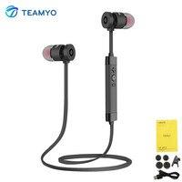 Teamyo Good Bass HiFi Headphones Wireless Bluetooth Earphone Double Unit Circle Iron Headphones V4 1 Sport