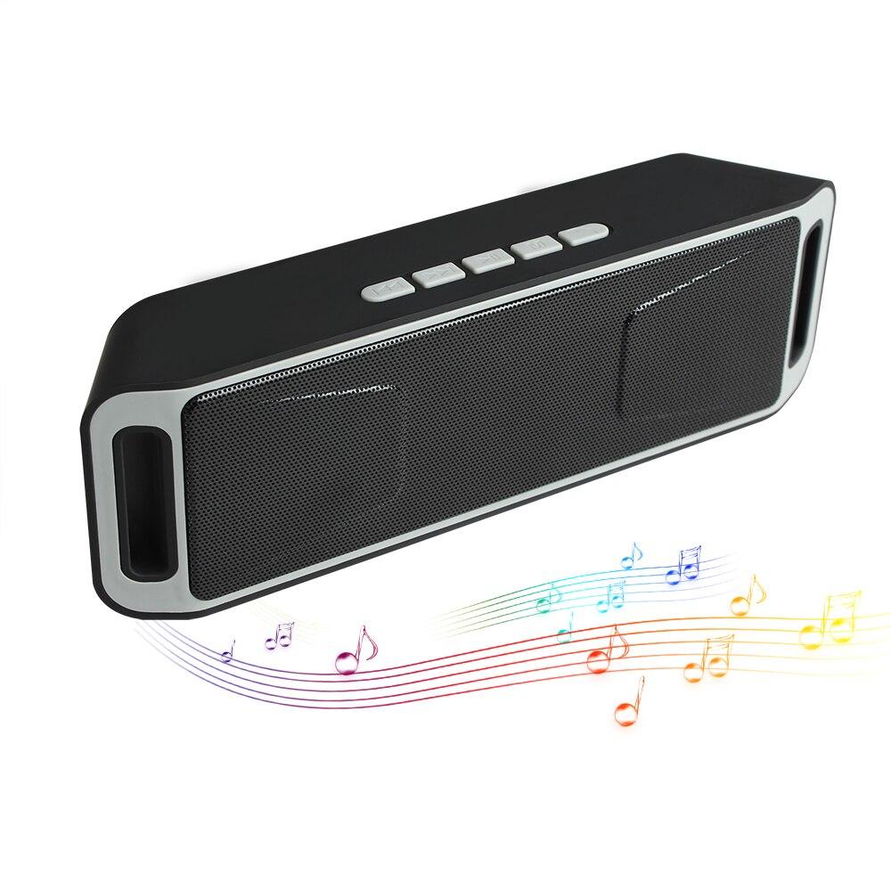 Soundbar Bluetooth 4.0 Portable Wireless Speaker TF USB FM Radio Dual Bluetooth Speaker Bass Sound Subwoofer Speakers