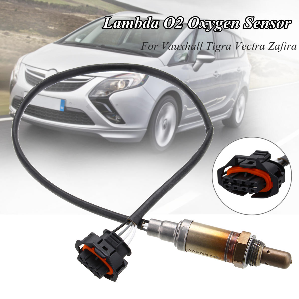 Lambda O2 Oxygen Sensor For Vauxhall Tigra Vectra Zafira 1.8 16v 93185456Lambda O2 Oxygen Sensor For Vauxhall Tigra Vectra Zafira 1.8 16v 93185456