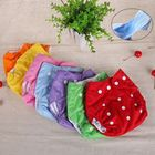1Pcs Baby Pocket Cloth Diapers Infants Kids Cartoon Dots Soft Reusable Napkin Breathable Diaper Cover Washable Nappy