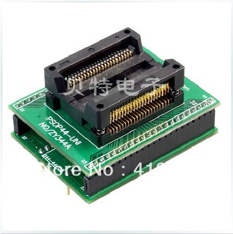 Ucos dedicated programming block ZY344A burning PSOP44 adapter, adapter tests ic qfp32 programming block sa636 block burning test socket adapter convert