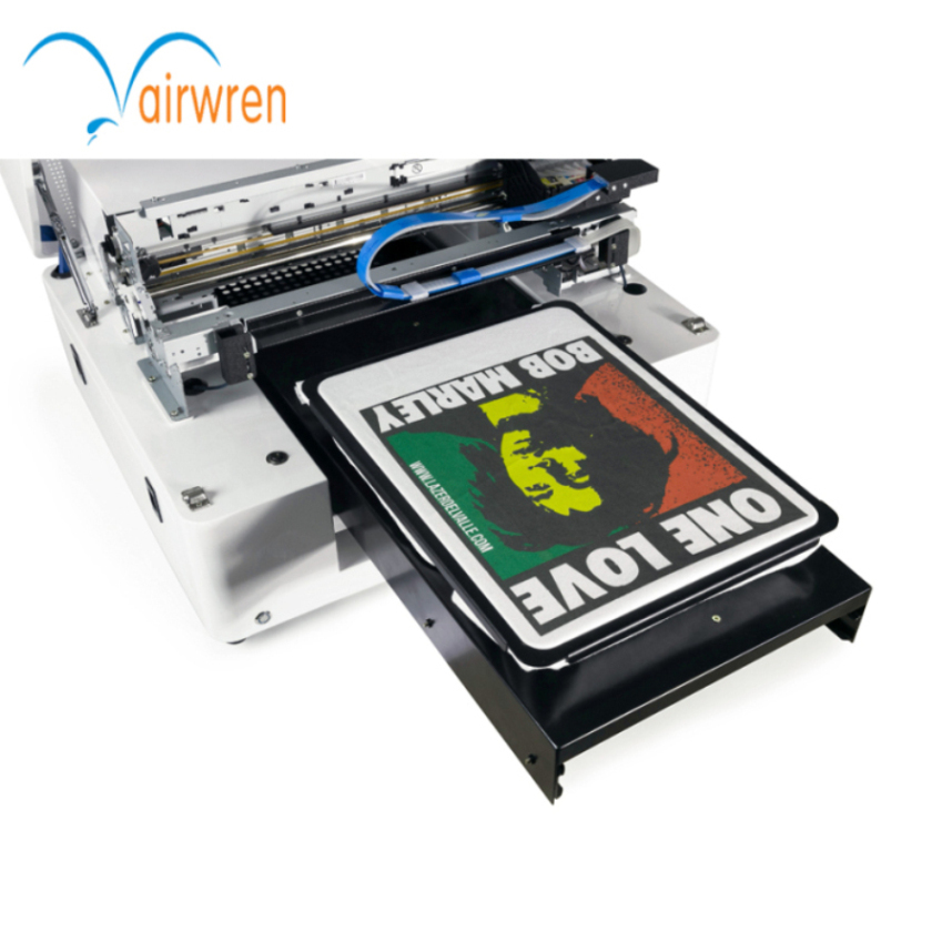 Hot Selling A3 T Shirt Printer Direct To Garment Printing