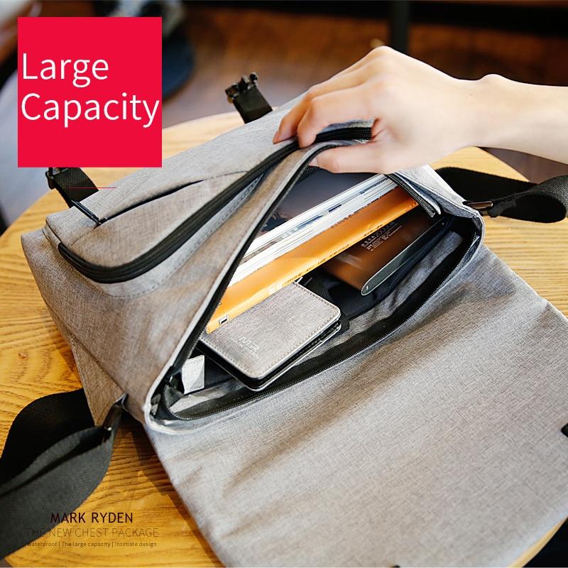 Crossbody Water Repellent Messengers Bag - Business & Casual Shoulder Bag 2