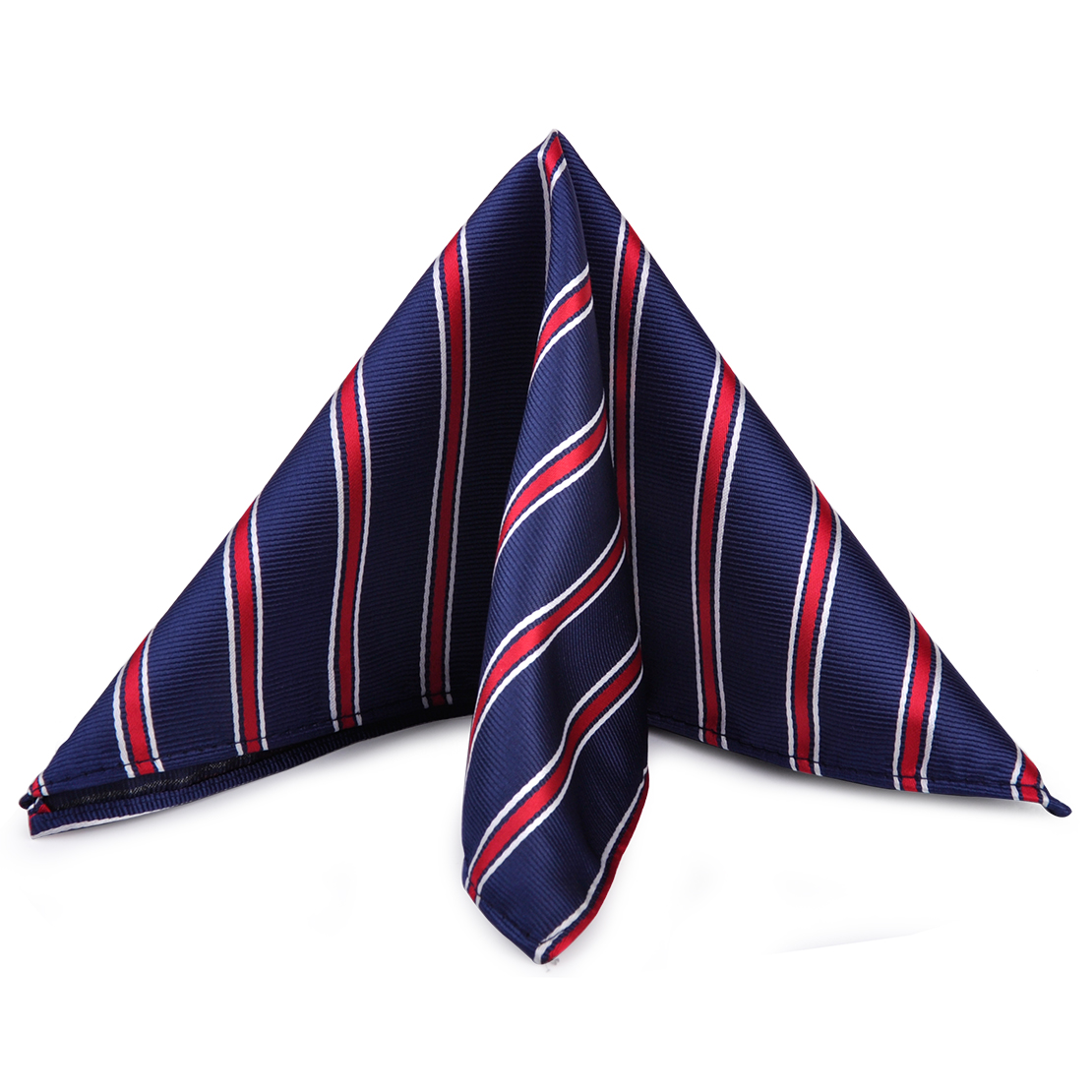 CiciTree Men's Striped Suit Pocket Square Silk Polyester Fashion Men Handkerchief Hanky For Bussiness Wedding Boys Father's Day