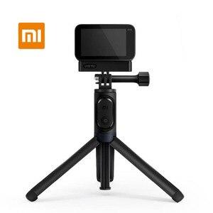 Image 1 - Xiaomi Mijia Selfie Stick przenośny wysuwany statyw Bluetooth do małego aparatu fotograficznego mijia