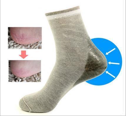 1 Pair High Quality Gel Heels Heels Socks Moisturizing Spa Gel Foot Care Socks Cracked Foot Dry Hard Skin Tread socks for pedicure