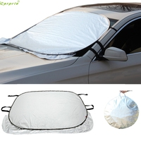 Cls Jumbo Foldable Auto Car SUV Sun Shade Visor Block Front Window Windshield Cover July 12