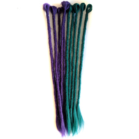 Qp hair Synthetic Hair Extensions Dreadlocks Braids Hair Crochet Braids Ombre Braiding Hair 20 strands/pack