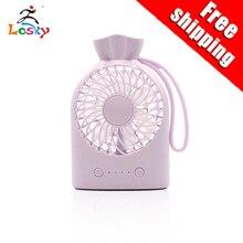 Portable Mini USB Handheld Fan 3-Speed Adjustable Desktop Cooling