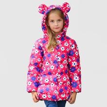 Girls Winter Coat Down Jacket Infant Toddler Snowsuit Manteau Fille Hiver Baby Girl Duck Down Jacket Kids Clothing 60Z004B