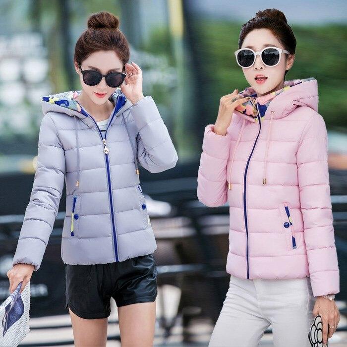 ФОТО TX1516  Cheap wholesale 2017 new Autumn Winter Hot selling women's fashion casual warm jacket female bisic coats