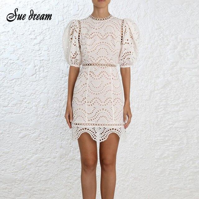 c48198e4f973 2018 Women Dress white o neck short sleeve mini Party Dresses sext bodycon  hollow out Evening Vestidos