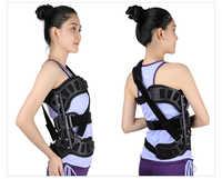 Nuevo Corrector de postura de escoliosis ortosis auxiliar ajustable para recuperación postoperatoria de espalda para hombres y mujeres