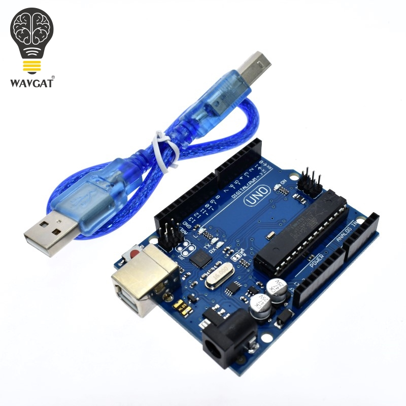 WAVGAT Smart Electronics UNO R3 MEGA328P ATMEGA16U2 Development Board Without USB Cable for arduino Diy Starter Kit