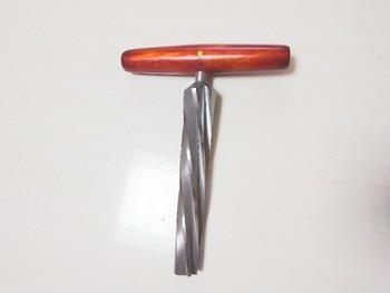 Violin making tool, bass tool, bass tail reamer diameter 25 / 36 mm