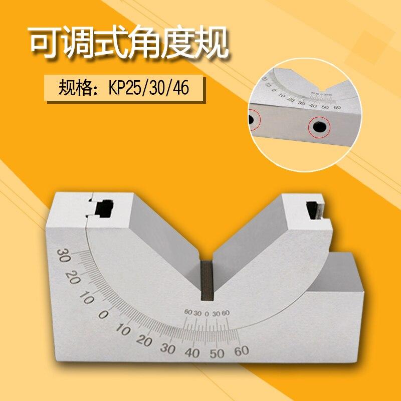 Gauge Precision Adjustable Angle Grinder Milling Machine Angle Block AP KP25 KP30 KP46 Angle