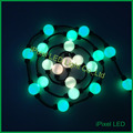 360 degree viewing pixel led ball string lights rgb dmx