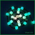 360 graus de visualização pixel led luzes da corda bola rgb dmx