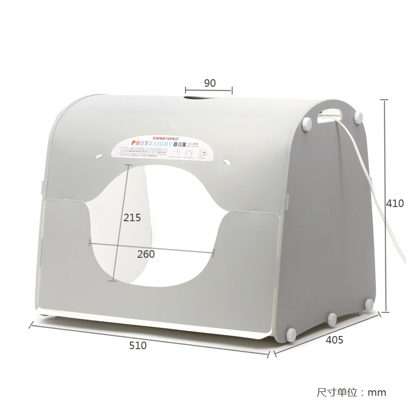 SANOTO K50 Softbox Photo Studio Caja fotográfica fotográfica con - Cámara y foto - foto 2