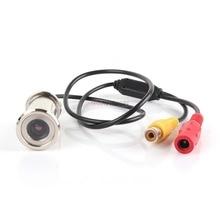 BOAVISION New Upgrade 1/4″ 550TVL CMOS 3.6mm Lens Door Eye Hole Install Color Mini Security Camera Doorview CCTV Camera