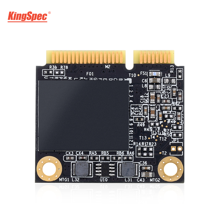 KingSpec SSD 512GB Half mSATA SSD 500GB Internal Hard Disk Drive PCI-e mini mSATA HDD Solid Hard Drive for Laptop Desktop Tablet цена