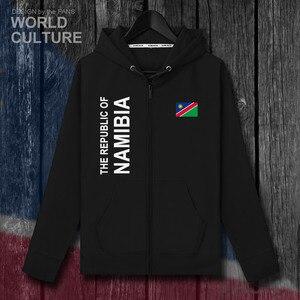 Image 2 - Namibia NAM Namibian NA mens fleeces hoodies sweatshirt winter zipper cardigan jerseys men jackets and coat tracksuit clothes