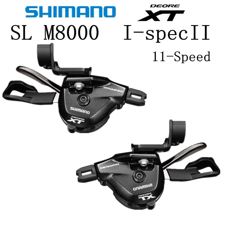 5a9eb16e061 SHIMANO Deore M8000 I-spec II RAPIDFIRE Plus Shift Lever 11-speed 2x11 3x11