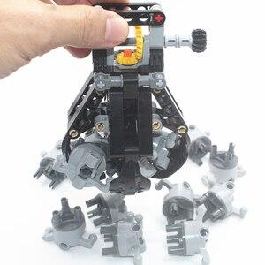 Image 5 - אבני בניין MOC טכני חלקי טכני 4 הרמת טפרי תואם עם לגו