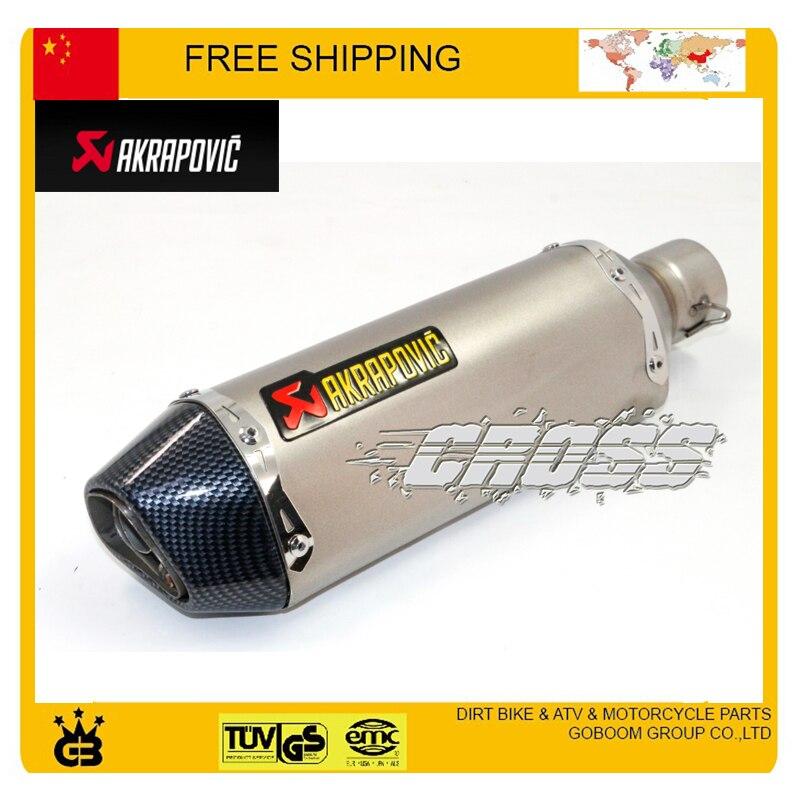 ФОТО JOG RSZ CBR YZF YBR TTR 200cc 250cc 300cc 400cc motorcycle exhaust pipe motorbike muffler silencer accessories free shipping