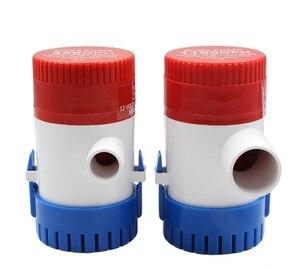 Image 5 - Bomba elétrica de bilge, bomba de água submersível para aquário, 350 500 1100gph dc 12v 24v, 750 barcos em casa