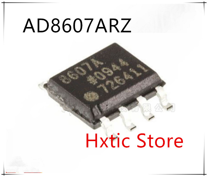 10PCS/lot AD8607ARZ AD8607AR 8607A AD8607 SOP-8 New Original IC Chip