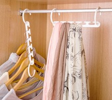 1pcs 3D Space Saving Hanger with Hook Closet Organizer Home Tool