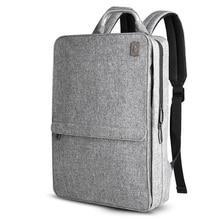 Sac à dos de travail unisexe fin, sac à dos ultraléger et fin, pour étudiants, pour femmes/hommes, sac de travail de 14 pouces, sac à dos pour ordinateur portable
