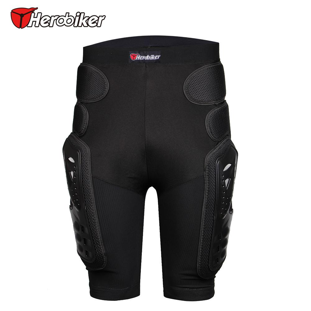 Prix pour Herobiker unisexe moto sport équipement de protection hip pad motocross hors route vtt de descente de patinage ski de hockey armure shorts