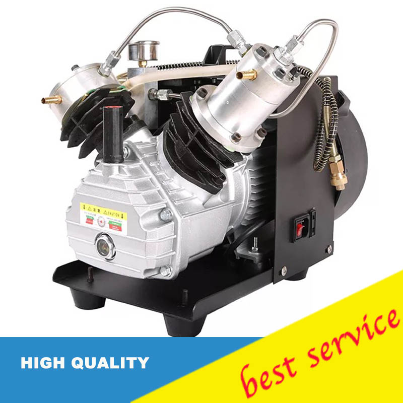 2 2KW Air Compressor PCP Inflator NEW Water cooled Electrical Air Compressor