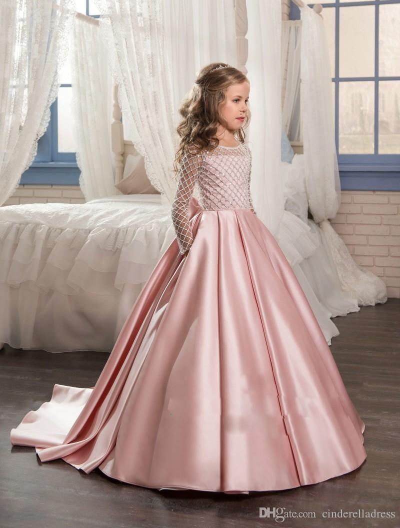 Asombroso Vestido De Novia Niñas Regalo - Colección de Vestidos de ...