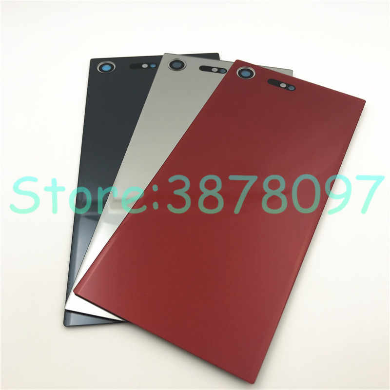 Back Battery Bottom Cover Leya Smartphone Repair Parts Back Battery Cover Color : Silver Black Middle Frame for Sony Xperia XZ