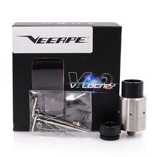 Veeape Новый скорость RDA V2 ввиду dripper распылитель с широким отверстием Drip советы подходят электронная сигарета mod