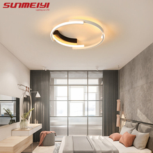 luces techo Modern LED Ceiling Lights For Dining room Bedroom Vintage Ceiling Lamp With Remote control Living room Lights