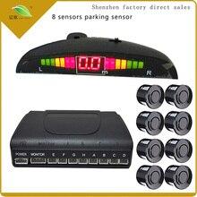 Light heart One Set Led Parking Sensor Auto Car Detector Parktronic Display