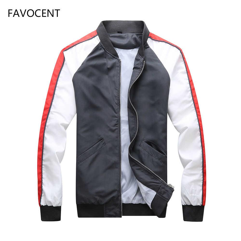 Куртка мужская ветровка 2018 весна осень модный мужской жакет повседневные куртки мужские пальто тонкая мужская куртка Верхняя одежда 3XL chaqueta