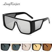 LongKeeper Yellow Night Vision Goggles Shield Sunglasses Men
