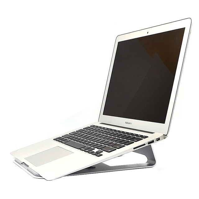 Moda alumínio flat-panel bracket suporte suporte plano base de resfriamento do computador para 14.1 polegada Jumper EZbook 2 Ultrabook Laptop