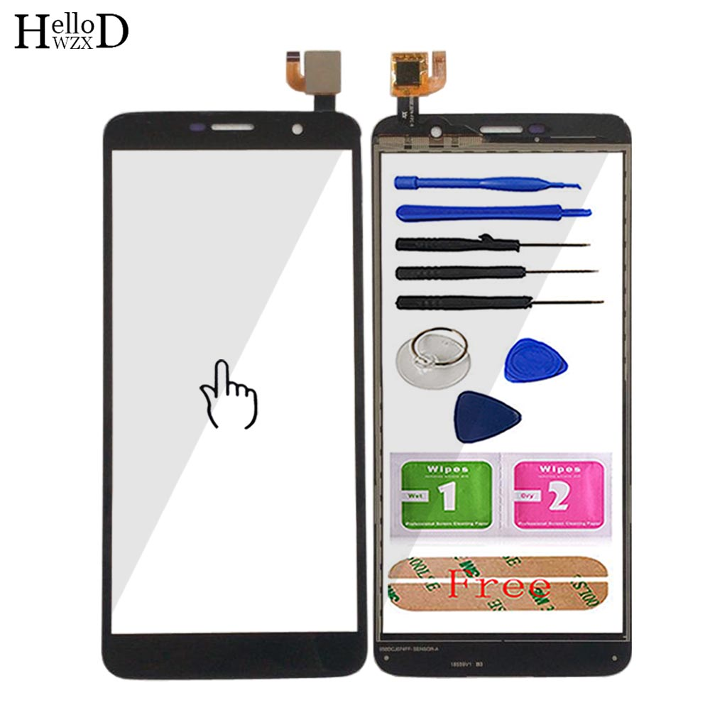 Mobile Touch Screen For HOMTOM S7 Touch Panel Digitizer Front Glass Replacement Tools Adhesive