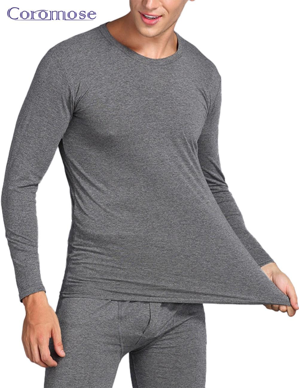 coromose winter men long johns mens thermal underwear sets. Black Bedroom Furniture Sets. Home Design Ideas